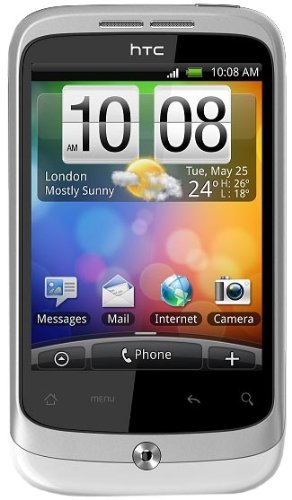 HTC Wildfire Sim Free Mobile Phone - Silver