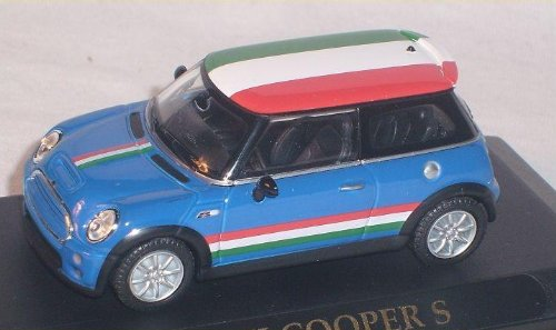 MINI NEW COOPER S BLAU FLAGGE