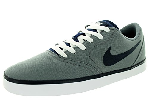 Nike Men's SB Check Cnvs Cool Grey/Dark Obsidian/White Skate Shoe 12 Men US (Cool Skate Shoes compare prices)