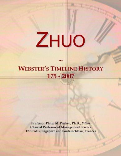 Zhuo: Webster's Timeline History, 175 - 2007