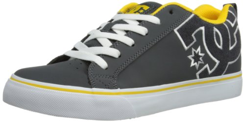 DC SHOES Mens Court Vulc Se M Low-Top 303187-DSD Grey 9 UK, 43 EU, 10 US