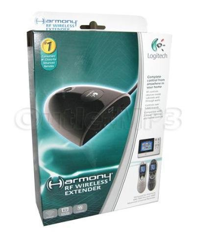 Logitech Harmony RF Wireless Extender (Discontinued by Manufacturer) (Logitech Remote Rf compare prices)