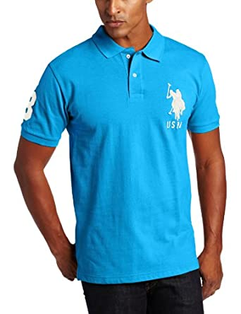 Low Price U.S. Polo Assn. Men's Solid with Big Pony