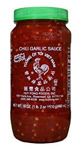 Huy Fong Chili Garlic Sauce 18-ounce Jars Pack Of 12 by Huy Fong