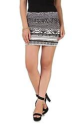 NOD Black Short skirt for women