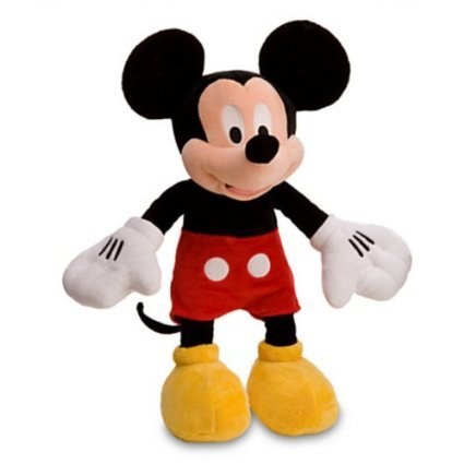 Disney Mickey Mouse Plush Toy -- 17'' front-937430