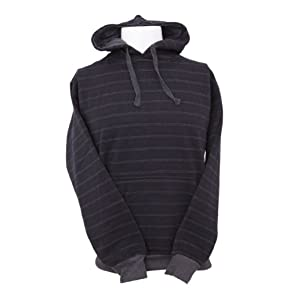 Mens Striped Hooded Sweatshirt Top/Hoodie (4 Designs)