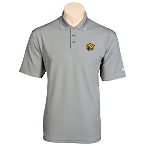 Arkansas Pine Bluff Under Armour Graphite Performance Polo