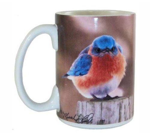 Songbird Essentials 15 Oz Mad Bluebird Ceramic Mug