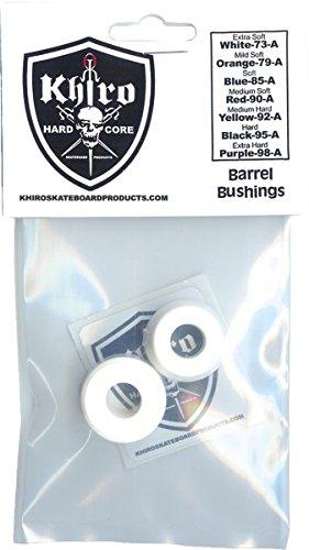 Khiro Std Barrel Bushing Set 73A X-Soft White (Soft Barrel Bushings compare prices)