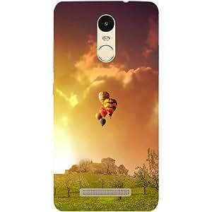 Casotec Meadowns Design Hard Back Case Cover for Xiaomi Redmi Note 3