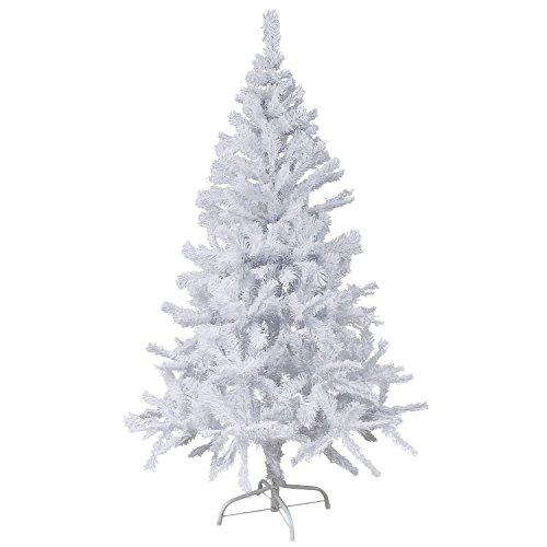 Sunjas-Albero-di-Natale-Materiale-PVC-vere-pigne-di-abete-120cm