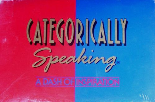 Categorically Speaking - FUNology from A to Z - 1