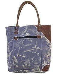 Leacan Bags Tote Bag (Blue) - B01B7R2Z6G