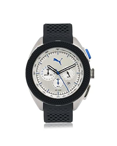 Puma Men's PU103251004 Black/White Stainless Steel Watch