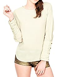 Lurap Women's Yellow Regular Top - Regular & Plus