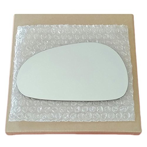 Mirror Glass and Adhesive 94-04 Ford Mustang Driver Left Side Replacement (1996 Mustang Driver Side Mirror compare prices)