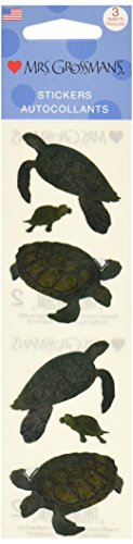 Mrs. Grossman's Stickers-Turtles - 1