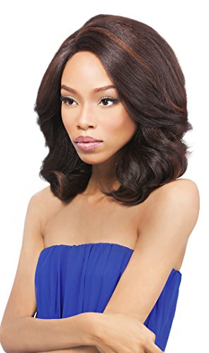 [Outre Lace L Parting Lace Front Wig PERM YAKI 14 Inch - 4] (Perm Wigs)
