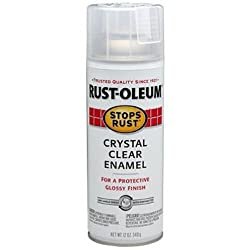 Rust-Oleum Stops Rust Protective Enamel Spray Paint for Multipurpose - Gloss Crystal Clear