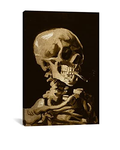 Skull Of A Skeleton I Gallery Wrapped Canvas Print