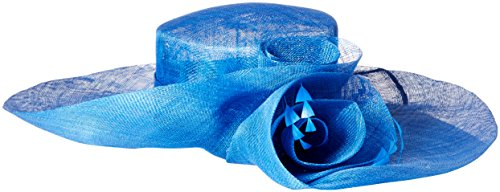 Scala Women's Sinamay Split Brim, Royal, One Size (Church Split compare prices)