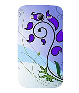 printtech Ethnic Flower Pattern Back Case Cover for Samsung Galaxy Grand Neo Plus::Samsung Galaxy Grand Neo Plus i9060i