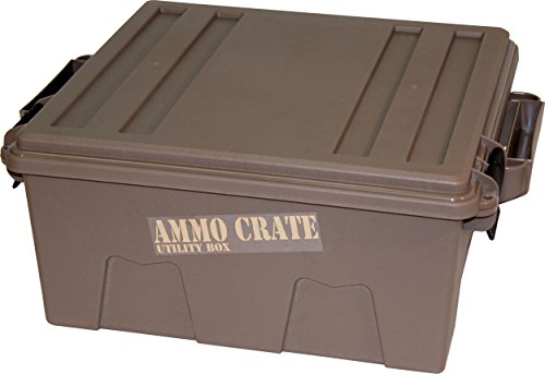 "Great Features Of MTM ACR8-72 Ammo Crate Utility Box with 7.25"" Deep, Large, Dark Earth"