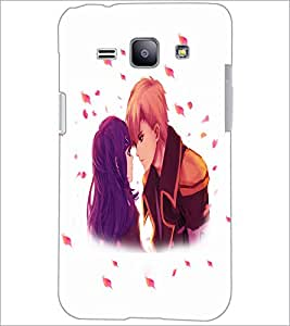 PrintDhaba Couple D-4700 Back Case Cover for SAMSUNG GALAXY J1 (Multi-Coloured)