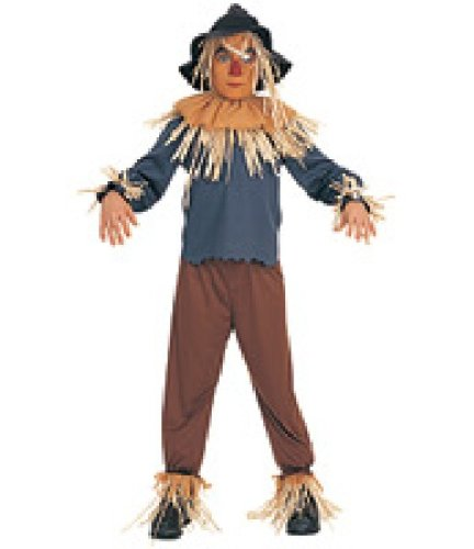 Rubie's Boys 'Wizard of Oz Scarecrow' Halloween Costume, Brown/Blue/Black, M