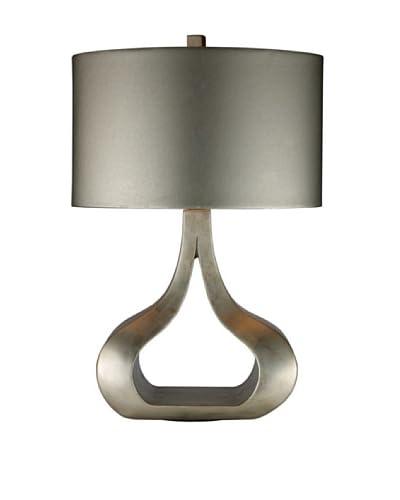 Artistic Lighting Carolina Table Lamp, Silver Leaf