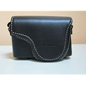 Canon PSC-910 Deluxe Leather Case for Powershot S95 Digital Camera (Black)