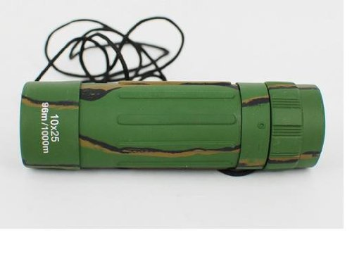 Mystery 10 X 25 Monocular Telescope For Camping/Sport