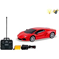 Smiles Creation Lamborgini Remote Control 1:16 Scale Model Car Toy For Kids (Red)