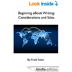 Beginning eBook Writing: Considerations and Sales (Crafty Tips)