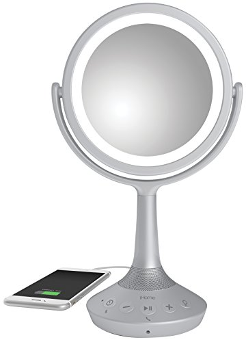 Vanity With Lights And Bluetooth : iHome iCVBT5 6