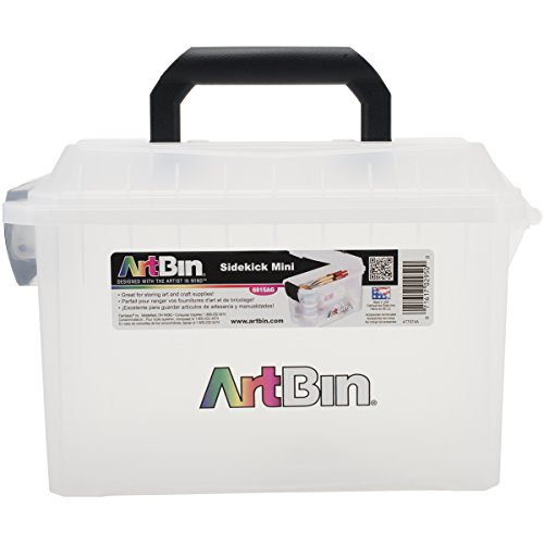 ArtBin Mini Sidekick Storage Box- Art/ Craft Supply Storage Container, 6815AG (Art Supply Box compare prices)