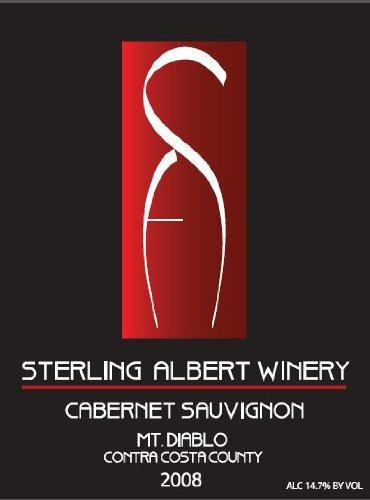 2008 Sterling Albert Mt. Diablo Contra Costa County Cabernet Sauvignon 750 Ml