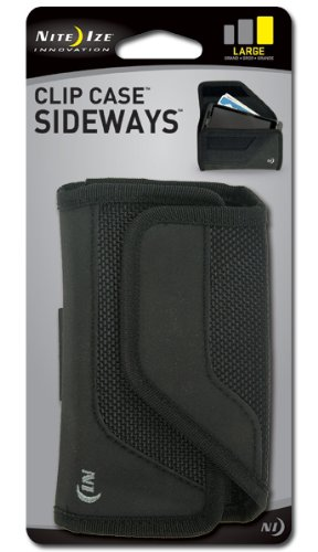 Nite Ize Clip Case Sideways – Retail Packaging – Black