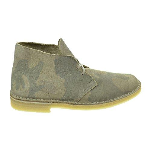 Clarks Men's Desert Boots Sand Camo Suede 26069976  US)
