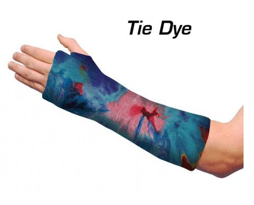 Short Arm Cast Cover - Tie Dye (Youth Small/Medium) (Short Arm Cast Cover compare prices)