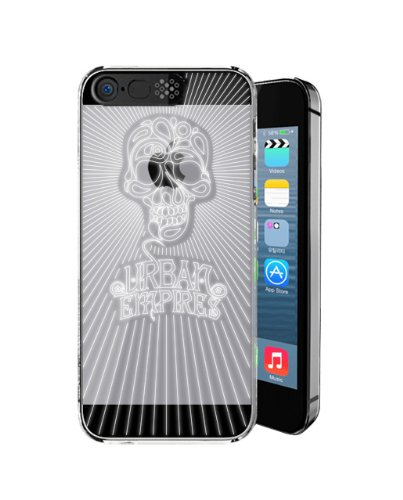 Irainy® Clear Flashing Flash Case Cover For Iphone 5S / Iphone 5 - Retail Packaging (Black)