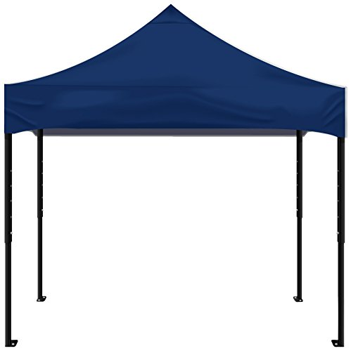Kd Kanopy Psk100B Party Shade Steel Frame Indoor/Outdoor Portable Canopy, 5 By 5-Feet, Blue