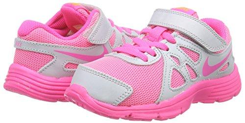 New Nike Girl's Revolution 2 Athletic Shoe PlatinumPink Pow