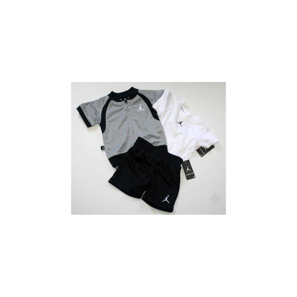 d7088366148af0 Nike Jordan Jumpman23 Baby Infant 3 Piece Short Set Size 6 9 Months ...
