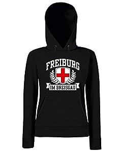 T-Shirtshock - Sweatshirt Hoodie Frauen TSTEM0168 freiburg im breisgau