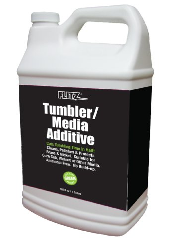 Flitz TA 04810 Tumbler Media Additive - 1 Gallon Refill Bottle