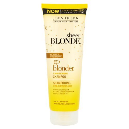 John Frieda Sheer Biondi Go Blonder Lightening Shampoo Capelli biondi 250 ml