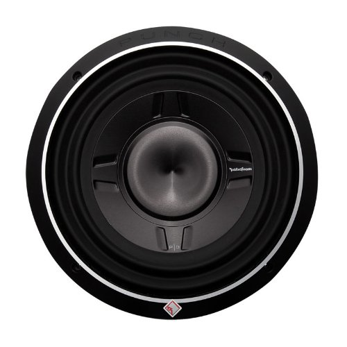 Rockford Fosgate P3Sd410 10-Inch Punch P3 Dual 4 Ohm Voice Coil Shallow Subwoofer