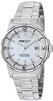 MomoDesign Pilot Diamonds Ladies MOP Dial Diamond Bracelet Watch MD093-D-02SL-MBD
